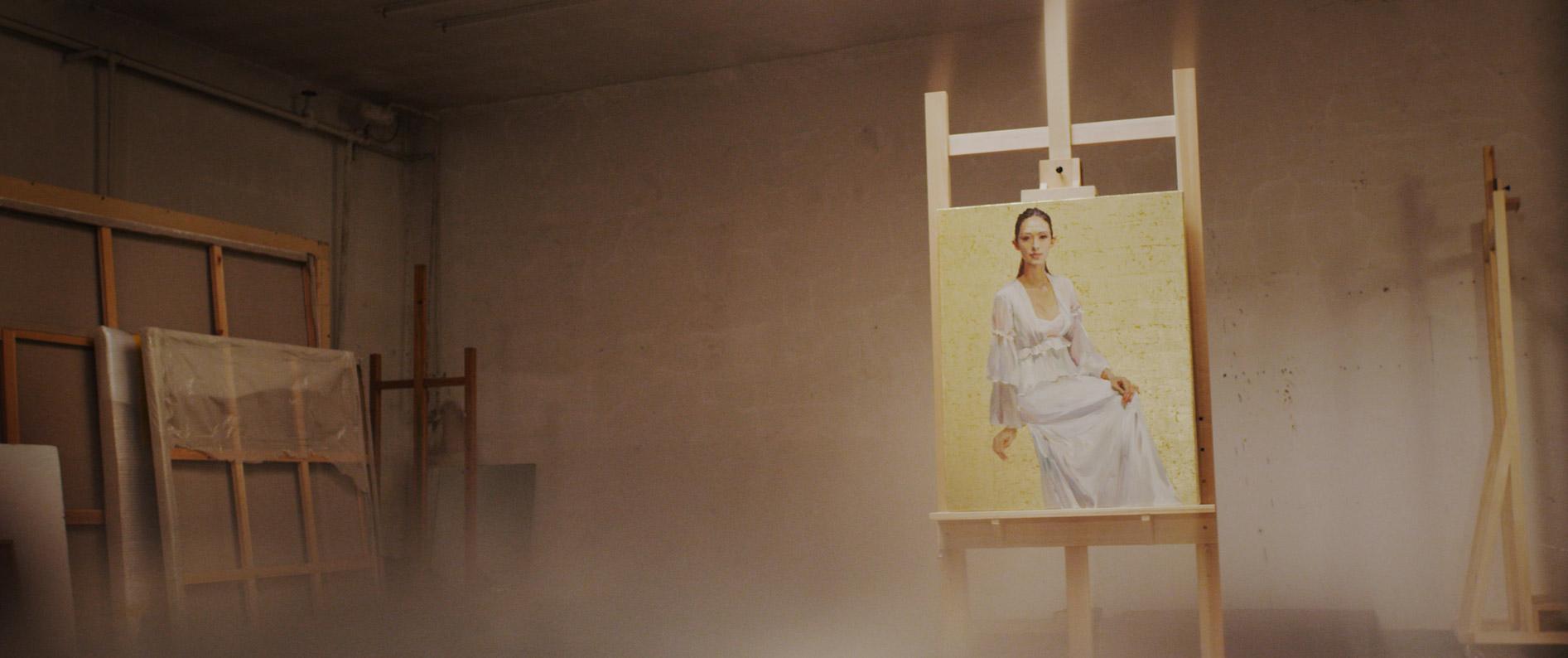 Yu Hong Portrait of Zhang Ziyi